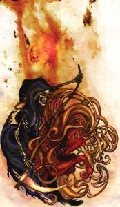 Fausto 14 - La Muerte. 2005. Texto por J.W. Goethe