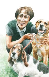 La tia Martha Luquitas y Zorrito